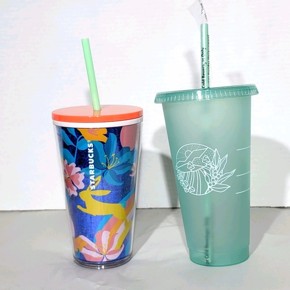 Starbucks 2021 Spring Tumblers & Earth Day cups
